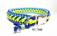 Paracord Dog Collar PASSION