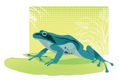 A Blue Frog by blackBanshee80 on deviantART