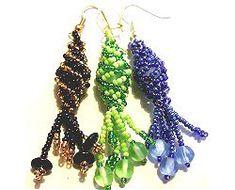 Triple Helix Earrings Pattern Sova-Enterprises.com
