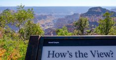 Bright Angel Point Trail in Grand Canyon National Park (North Rim) - Habits of a Travelling Archaeologist Grand Canyon National Park, National Parks, Trail, Angel, Mountains, Angels, Bergen, State Parks