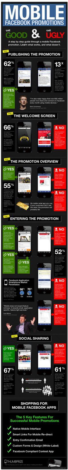 Promociones en FaceBook móvil