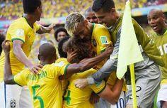 WORLD CUP 2014 BRAZIL VS CHILE
