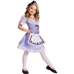 Alice Child Costume 8-10
