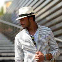 Tendencias hombre primavera verano 2013 sombreros panama hat fedora street style | Galería de fotos 11 de 30 | Vogue México
