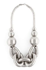 kenneth jay lane | The Look for Less: Kenneth Jay Lane Silver Chain Necklace - The Budget ...