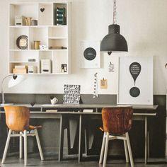 Mooie werkkamer #vtwonen #werkkamer