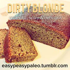 Dirty Blonde Cake {easypeasypaleo}
