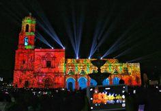 #FotoDelDía Festival del #Mapping en Morelia vía @candidman  El secretario de #Turismo federal, Enrique de la Madrid Cordero, inauguró el Festival del #Mapping en la #PlazaValladolid, de #Morelia, #Michoacán.