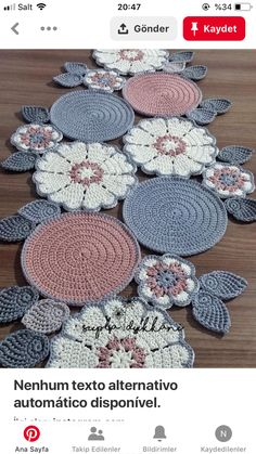 Crochet - Page 3 of 171 - Crochet and Knitting Patterns Crochet Round, Irish Crochet, Crochet Motif, Crochet Doilies, Crochet Flowers, Crochet Stitches, Crochet Table Runner Pattern, Crochet Tablecloth, Embroidery Hoop Decor