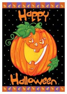 Toland Home Garden Happy Halloween 28 x 40-Inch Decorative USA-Produced House Flag