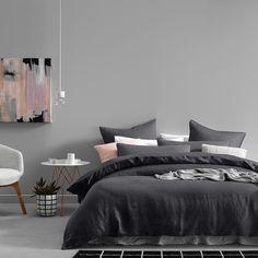 Home Republic Vintage Washed Linen Current - Stylist Picks Pure Linen - Adairs…