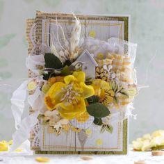 Привет, солнышки! Как же я зарядилась позитивом и весенним солнечным настроением от ваших желтеньких работ! Вот желтый цвет - он такой весе...