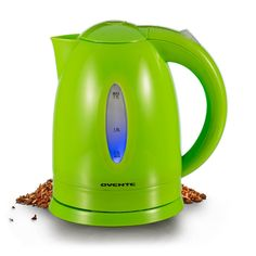 Ovente KP72G 1.7 Liter BPA Free Cordless Electric Kettle, Green -- Details can be found by clicking on the image.