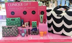 Choose your bag, mix and an accessory at Belk now! Your 7-pc Clinique gift with any $28 purchase.