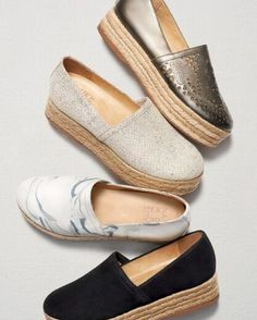 b6d2b482f957 Espadrilles and Espadrille-Inspired Shoes Surge To Fashion Forefront