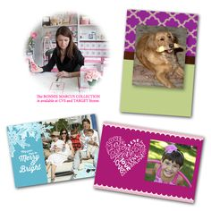 When it comes to photo cards 72.9% of people like to show the entire family, 23.4% show just the kids and 3.7% feature pets only. Whatever you choose, it will look great in a card from @bonniemarcus The Bonnie Marcus Collection made at Kodak Picture Kiosk.