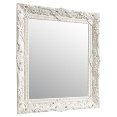 Complete your hallway or dressing room scheme with this stylish wall mirror. Hang amongst canvas prints and family photographs for a tied-together look. Wood Mirror, Beveled Mirror, Full Length Mirror Wall, Classic Elegance, Dark Wood, Beautiful Homes, Oversized Mirror, Elegant, Mirrors