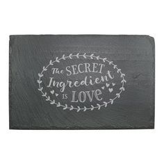 Winston Porter Daviston Secret Ingredient Cheese Board and Platter Etched Gifts, Slate Cheese Board, Vinyl Quotes, Cricut Craft Room, Typographic Design, Glass Cutting Board, Glass Dishes, Glass Etching