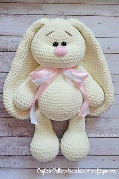 Mesmerizing Crochet an Amigurumi Rabbit Ideas. Lovely Crochet an Amigurumi Rabbit Ideas. Crochet Bunny Pattern, Crochet Rabbit, Crochet Amigurumi Free Patterns, Crochet Animal Patterns, Stuffed Animal Patterns, Crochet Dolls, Free Crochet, Crochet Animals, Sewing Patterns