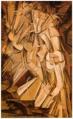 Lettres à un jeune philosophe de l'histoire et autres essais par Jean-Paul Coupal: Les modernités artistiques et littéraires à l'ère de l'Anus Mundi (6) Le cubisme & le futurisme
