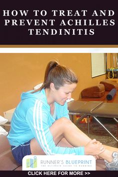 Lean more about to treat and prevent Achilles tendinitis by going to : http://www.runnersblueprint.com/ultimate-guide-to-treating-and-preventing-achilles-tendonitis/tendinitis  #Achilles #Running #RunningInjury