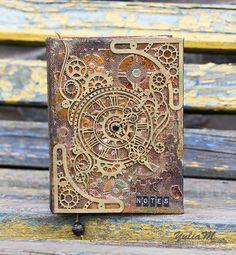 Стимпанк блокнот          Steampunk notebook
