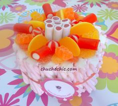 mini tarta chuches chuchechic ideas originales para regalar