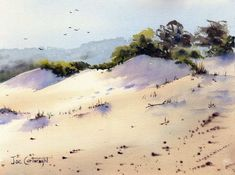 Watercolor Paintings Landscape Gallery