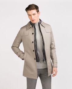 Image 1 of TRENCH COAT WITH WAISTCOAT INTERIOR from Zara