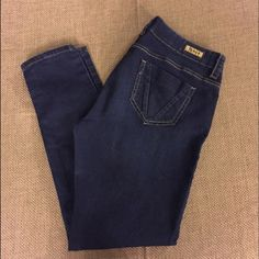 "Junior's See Thru Soul (STS) Blue Skinny Jeans These jeans are very comfortable and lightweight. They have a lot of stretch but don't ""stretch out""  See Thru Soul Jeans Skinny"