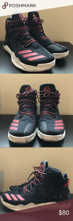 Adidas men's Derrick Rose basketball shoes size 9 Hubby's basketball shoes. He only wear them once in the gym to play basketball. Great conditions and almost brand new without shoe box. adidas Shoes Athletic Shoes