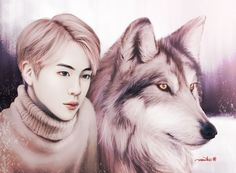 Woah this Jin art is beautiful