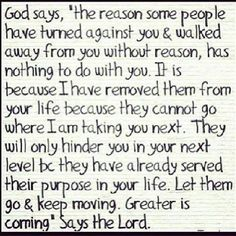Trust there is a reason. I love this. It has come at a perfect time.