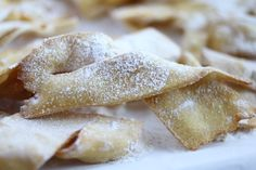 Frappe is a crispy fried dough that is enjoyed in Italy during Carnevale. Learn how to make them from our very own Italian nonna.