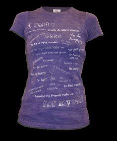 My favorite running shirt.