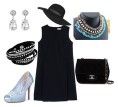 """""""Untitled #22"""" by miss-kamara on Polyvore featuring Jil Sander, Chanel, Topshop and Kenneth Jay Lane"""