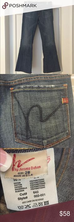 Citizens Of Humanity, Flair Ingrid Jean, size 28. Citizens of Humanity Ingrid #002 low-rise flair stretch in Pacific Rinse. In great conditon! No noticeable signs of wear! Size 28. Citizens of Humanity Jeans Flare & Wide Leg