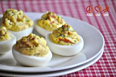 Bacon Deviled Eggs - Low Carb, Paleo