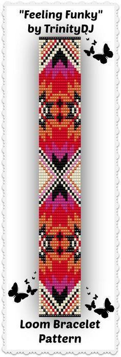 Bracelet pattern loom pattern
