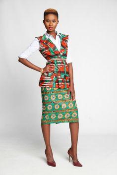 Zamani Salem Jacket ~African fashion, Ankara, kitenge, African women dresses, African prints, African men's fashion, Nigerian style, Ghanaian fashion ~DKK