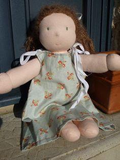 Fabriquer une poupée Marotte, étape par étape, en photos
