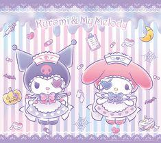 My Melody Wallpaper, Sanrio Wallpaper, Hello Kitty Wallpaper, Kawaii Wallpaper, Kawaii Room, Kawaii Art, Hello Sanrio, Kawaii Bunny, Hello Kitty My Melody