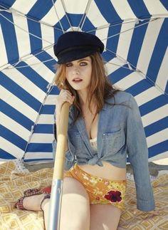 Alexandra Daddario in Cosmopolitan Magazine #hollywoodactress #celebritystyle