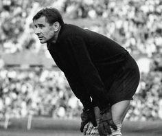 Goal keeper Lev Yashin