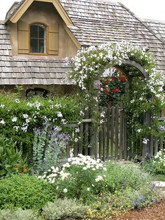 The Cottage Garden at Chez Lo | by linda yvonne
