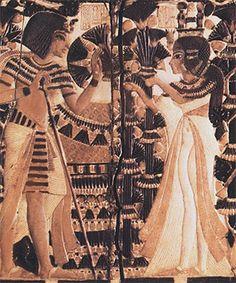 Ankhesenamun and Tutankhamun...