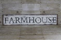 Farmhouse Sign, Rustic Reclaimed Wood, Kitchen Decor, Country Kitchen, Distressed White Sign