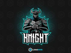 Knight Logo Esport, Name Logo, Jack Sparrow Tattoos, Crazy Wallpaper, Samurai Artwork, Standard Image, Logo Desing, Team Mascots, Esports Logo