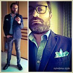 #ruiroma #style #brand #moda #fashion #class #man #cool #design #kult #Naples #madeinitaly #Italy #brusciano #couture #mystyle #mensfashion #details #instacool #pochette #jacket #italianstyle #primavera