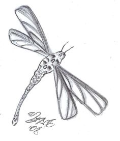 Skull Dragonfly Tattoo Design by 2Face-Tattoo -See more stunning Tattoo Design at stylendesigns.com